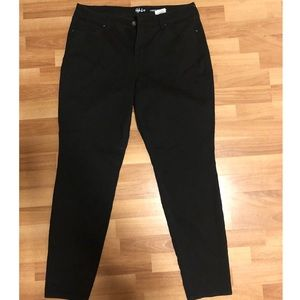 Style and co black skinny jeans